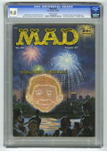 Magazines:Mad, Mad #34 (EC, 1957) CGC VF/NM 9.0 Off-white pages. Parody of authorDr. Fredric Wertham. Norman Mingo cover. Interior art by ...