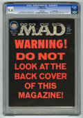 """Magazines:Mad, Mad #73 Gaines File pedigree (EC, 1962) CGC NM 9.4 White pages.""""Bonanza"""" TV Parody. """"Hex"""" cover. Mort Drucker, Wally Wood, ..."""