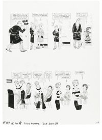 "Dave Berg - Mad #187 and 228 Complete 5-page Story ""The Lighter Side of..."" Original Art, Group of 2 (EC, 1976..."