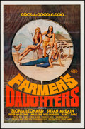 "Movie Posters:Adult, Farmer's Daughters & Others Lot (Alpha Blue, 1976). One Sheets (4) (25"" X 36"" & 27"" X 41""). Adult.. ... (Total: 4 Items)"