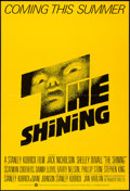"Movie Posters:Horror, The Shining (Warner Brothers, 1980). One Sheet (27"" X 40"") Flat Folded Advance. Horror.. ..."