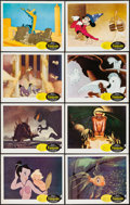 "Movie Posters:Animation, Fantasia (Buena Vista, R-1963). Lobby Card Set of 8 (11"" X 14""). Animation.. ... (Total: 8 Items)"