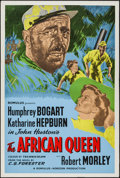 """Movie Posters:Adventure, The African Queen (Romulus, R-1950s). British One Sheet (27"""" X 40""""). Adventure.. ..."""
