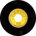 "Music Memorabilia:Recordings, Elvis Presley ""Mystery Train/ I Forgot to Remember to Forget"" SunSingle (Sun 223, 1955)...."