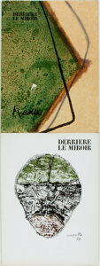 Books:Art & Architecture, [Art Periodical]. Two Issues of Derriere le Miroir. 1974. Folio. Original printed wrappers, with some rubbing an... (Total: 2 Items)