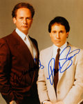 Music Memorabilia:Autographs and Signed Items, Simon and Garfunkel Signed Color Photo....