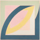 FRANK STELLA (American, b. 1936) River of Ponds II (from Newfoundland Series: Working Proof), 1971 Lithograph in c
