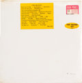 "Music Memorabilia:Recordings, The Beatles [""The White Album""] Sealed Stereo LP With RareSong List Sticker (Apple 101, 1968). ..."