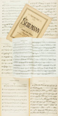 Books:Music & Sheet Music, [Sheet Music]. Seven Piece Collection of Sheet Music. Variouspublishers and dates. Quarto. Some toning, chipping and creasi...(Total: 7 Items)