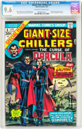 Bronze Age (1970-1979):Horror, Giant-Size Chillers #1 (Marvel, 1974) CGC NM+ 9.6 Off-white towhite pages....