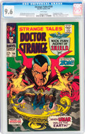 Silver Age (1956-1969):Horror, Strange Tales #156 (Marvel, 1967) CGC NM+ 9.6 White pages....