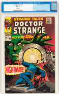 Silver Age (1956-1969):Horror, Strange Tales #164 (Marvel, 1968) CGC NM- 9.2 Off-white pages....