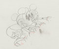 Animation Art:Production Drawing, Puppy Love Mickey Mouse and Minnie Mouse Production DrawingAnimation Art (Walt Disney, 1933)....