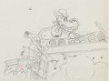 Animation Art:Production Drawing, Camping Out Horace Horsecollar Production Drawing AnimationArt (Walt Disney, 1933)....