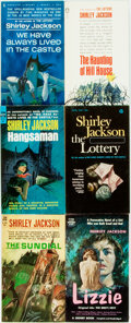 Books:Horror & Supernatural, Shirley Jackson. Group of Six Mass Market Paperbacks. Variouspublishers and dates. Original pictorial wrappers. Mild creasi...(Total: 6 Items)