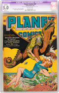 Golden Age (1938-1955):Science Fiction, Planet Comics #29 (Fiction House, 1944) CGC Apparent VG/FN 5.0Slight (A) Off-white pages....