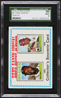 Baseball Cards:Singles (1970-Now), 1974 O-Pee-Chee Hank Aaron Special #6 SGC 96 Mint 9 - The FinestSGC Example! ...