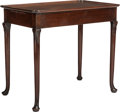 Furniture , A GEORGE III ROSEWOOD TEA TABLE, circa 1820. 28-1/2 x 33 x 20 inches (72.4 x 83.8 x 50.8 cm). ...