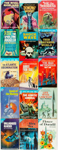 Books:Science Fiction & Fantasy, [Science Fiction]. Group of Fifteen Ace Paperbacks. New York: Ace Publishing, [various dates]. Original pictorial wrappers. ... (Total: 15 Items)