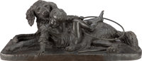 A FRENCH PATINATED BRONZE SCULPTURE, 19th century, Christophe Fratin, Paris, France Marks: Fratin 21