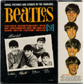 Music Memorabilia:Recordings, Song, Pictures and Stories of the Fabulous Beatles SealedMono LP (Vee-Jay 1092, 1964)....