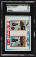 Baseball Cards:Singles (1970-Now), 1974 O-Pee-Chee Hank Aaron Special #8 SGC 96 Mint 9 - The Finest SGC Example! ...