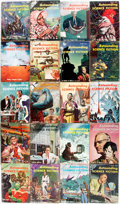Books:Pulps, [Pulps]. Twenty Issues of Astounding Science Fiction.1955-1958. Original printed wrappers. Some chipping an... (Total:20 Items)