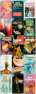 Books:Science Fiction & Fantasy, [Science Fiction]. Group of Fifteen Ace Paperbacks. Includes thirteen Ace doubles. 1955-1971. Publisher's printed wrappers. ... (Total: 15 Items)