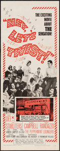 "Movie Posters:Rock and Roll, Hey, Let's Twist (Paramount, 1962). Insert (14"" X 36""). Rock andRoll.. ..."