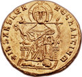 Ancients:Byzantine, Ancients: Alexander (AD 912-913). AV solidus (22mm, 4.48 gm,6h). ...