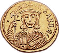 Ancients:Byzantine, Ancients: Michael I Rhangabe (AD 811-813), with Theophylactus. AVsolidus (20mm, 4.38 g, 6h)....