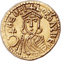 Ancients:Byzantine, Ancients: Theophilus (AD 829-842). AV solidus (21mm, 4.16 gm, 6h)....