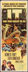 "Movie Posters:Science Fiction, It Came from Beneath the Sea (Columbia, 1955). Insert (14"" X 36""). Science Fiction.. ..."