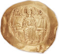 Ancients:Byzantine, Ancients: Andronicus I Comnenus (1183-1185). AV hyperpyron (29mm,4.20 gm, 6h)....