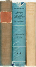 Books:Biography & Memoir, [George Washington]. Group of Three Books about George Washington.Various publishers, 1926, 1931, 1940. Includes one first ...(Total: 3 Items)