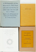 Books:Books about Books, [Books about Books]. Group of Four Books about Books. Variouspublishers and dates. Original cloth bindings. Two dust jacket...(Total: 4 Items)