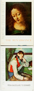Books:Art & Architecture, [Art Reference]. Group of Two Books on Art History. Lionello Venturi. Italian Painting: The Renaissance. [and:] Ma... (Total: 2 Items)