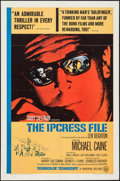 "Movie Posters:Thriller, The Ipcress File (Universal, 1965). One Sheet (27"" X 41"") & Uncut Pressbook (14 Pages, 12"" X 18""). Thriller.. ... (Total: 2 Items)"