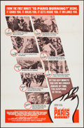 "Movie Posters:War, Is Paris Burning? (Paramount, 1966). One Sheet (27"" X 41"") &Uncut Pressbook (26 Pages, 12"" X 15"") Style B. War.. ... (Total: 2Items)"