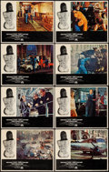 "Movie Posters:Action, The Italian Job (Paramount, 1969). Lobby Card Set of 8 (11"" X 14"").Action.. ... (Total: 8 Items)"