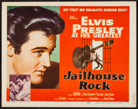 "Jailhouse Rock (MGM, 1957). Title Lobby Card (11"" X 14""). Elvis Presley"