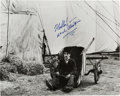 "Movie/TV Memorabilia:Autographs and Signed Items, A Charlie Chaplin Signed Black and White Photograph from ""TheCircus,"" Circa 1970s...."