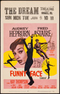 "Movie Posters:Romance, Funny Face (Paramount, 1957). Window Card (14"" X 22""). Romance.. ..."