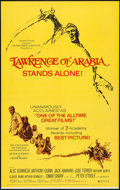 "Movie Posters:Academy Award Winners, Lawrence of Arabia (Columbia, R-1971). One Sheet (27"" X 41"") & Lobby Card Set of 8 (11"" X 14""). Academy Award Winners.. ..."