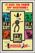 "Movie Posters:Western, Lemonade Joe (Allied Artists, 1966). One Sheet (27"" X 41""). Western.. ..."