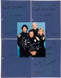 "Movie/TV Memorabilia:Documents, A Richard Herd Group of Scripts from ""T.J. Hooker.""..."