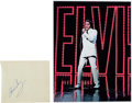 Music Memorabilia:Autographs and Signed Items, Elvis Presley Autograph....