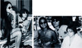 Music Memorabilia:Photos, Beatles - John Lennon, May Pang, and Julian Lennon Black and WhiteEditioned Photographs by Bob Davidoff.... (Total: 2 Items)