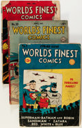 Golden Age (1938-1955):Superhero, World's Finest Comics #5, 30, and 31 Group (DC, 1942-47) Condition: Average FR.... (Total: 3 )