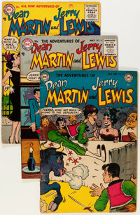 Adventures of Dean Martin and Jerry Lewis Group (DC, 1953-64) Condition: Average GD+.... (Total: 9 Comic Books)